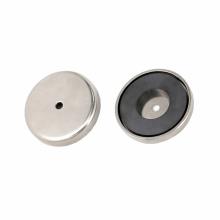 Керамический круглый магнит горшок магнитная основа