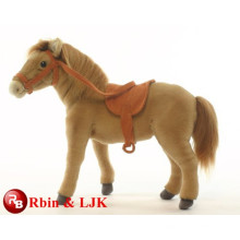 Meet EN71 and ASTM standard ICTI plush toy factory horse toy