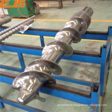 nitrided or bimetallic rubber extruding screw and barrel