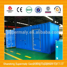 CE approved Water cooled container generator with best price