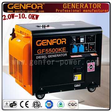2016 China Alta Qualidade Alta Eficiência Portable Super Silent Diesel Generator