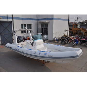 6.8m Large Size Rigid Inflatable Rescue Boat