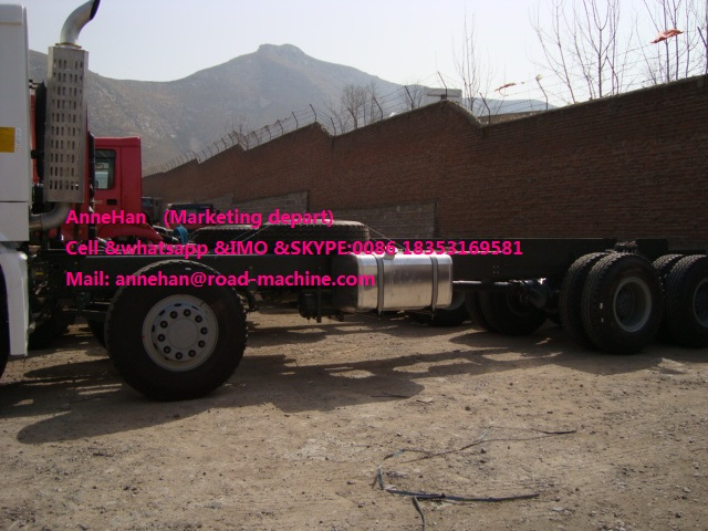 Howo cargo chassis  (9)