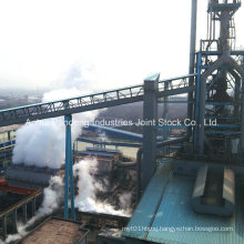 ASTM/DIN/Cema/Sha Standard Fixed Belt Conveyor for Steelworks Plant Production Line