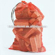 cheap 25kg polypropylene mesh bag for firewood