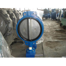 Worm Gear Wafer Type Butterfly Valve