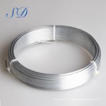 2.4mmx3.0mm du fil galvanisé par électro galvanisé par fil chaud de fer de Galvanzied 0.22mm