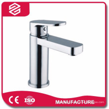 basin water faucet chrome finished brass bathroom basin faucet
