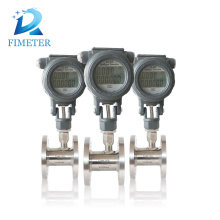 electronic digital flange water meter