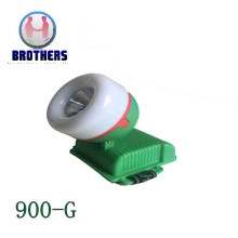 Green 3AA Outdoor Plastic LED Headlamp