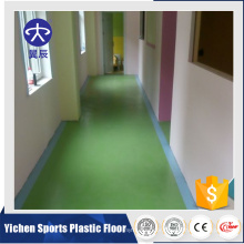 Kindergarten UV Coating Pvc Commercial Flooring sheet