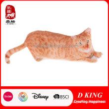 2D Напечатанную кошка плюшевые игрушки любимчика кусаться