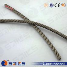Chine Usine vente chaude 6 * 7 + FC galvanisé électrique en acier