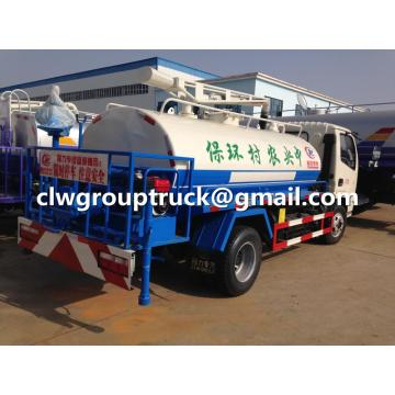 Dongfeng Water Truck with Sewage Suction Function
