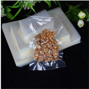 Plastic hot selling three side heat sealing bag of vacuum bag for coooked food