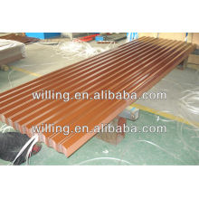 Pre-painted galvanized corrugate steel sheet for wall