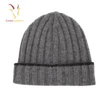 Alta Qualidade Inverno Homem De Lã Cashmere Beanie Gorro