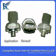 Sensor de pressão de ar condicionado automático para transdutor de pressostato renault