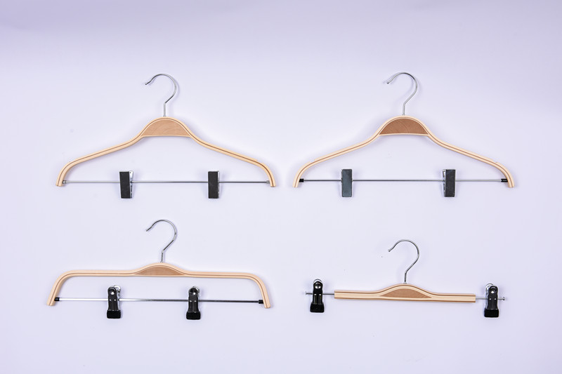 Natural Laminated Wooden Clothes Hanger