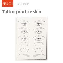 Prática de pele de tatuagem formação falsa