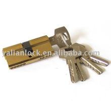 Porta de latão Cilindro cadeado