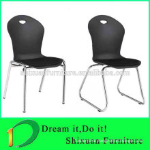 stacking comfortable plastic hotel chair