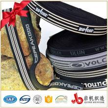 Billige benutzerdefinierte Polyester Gurtband Band Jacquard elastisch