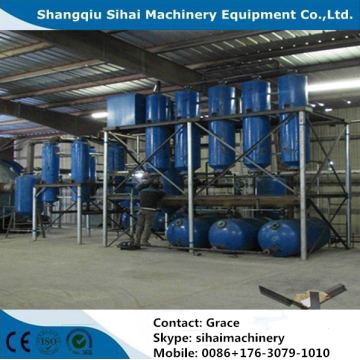 used transformer oil refining distillation machine