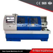 Wirtschaftliche horizontale flate bed cnc-drehmaschine für verkauf CK6150A / 1250mm
