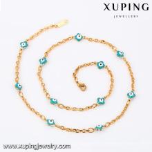 43077- colar de jóias sexy Xuping colar de olho azul mal para mulheres