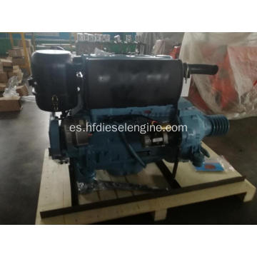 Motor F4L912 deutz 912 con embrague y polea