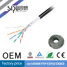 SIPU best quality sftp outdoor cat5e messenger solid lan cable