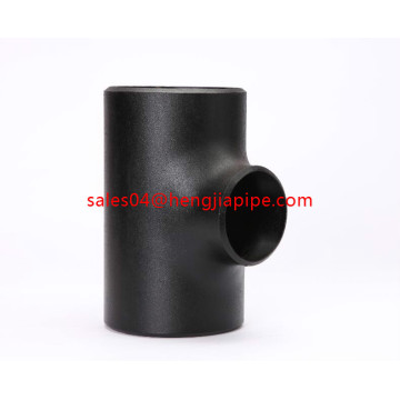 schwarzes Stahlcarbon ASTM A234 ANSI Tee