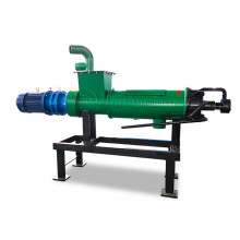 Hot selling poultry dung separating machine/cattle manure dewatering machine/cow dung chicken manure separator for sale
