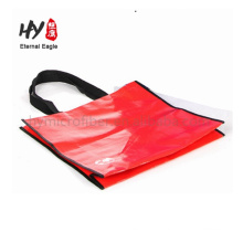 Fancy foldable durable pp woven book bag
