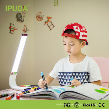 2016 China supplier IPUDA modern touch LED table lamp with dimmable color brightness