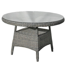 Outdoor Wicker Garden Rattan Dining Set Patio Table