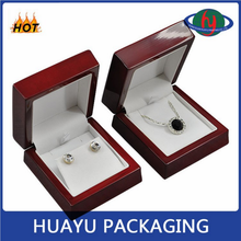 Top Quality Luxury Customized Wooden Jewelry Earring Box