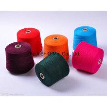 NE 30s/1 teñido de hilados de poliéster para tejer calcetines \Carpet\Curtain