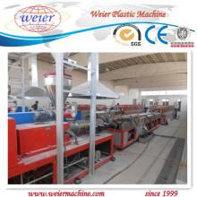 Linha de produção da janela plástica do PVC e da máquina do perfil da porta / extrusora / extrusão