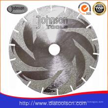 Hoja de sierra circular galvanizada con brida