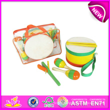 Hot New Product for 2015 Kids Wooden Musical Instrument Toy, Funny Wooden Toy Musical Instrument Toy, Wooden Musical Toy W07A076