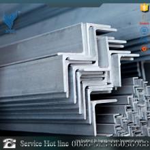 Barres angulaires en acier inoxydable en acier inoxydable 304L avec certification CE