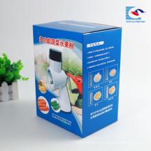 Alta qualidade personalizado corte máquina de frutas caixa de embalagem de papelão ondulado