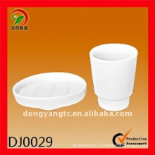 2 pcs ceramic bathroom set