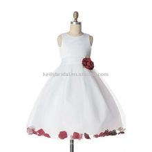 2016 China-Fabrikkind-Auffrischungen späteste Entwürfe für Babyblumenart und weise sleeveless Mädchenkleider