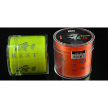 Línea de pesca de nylon resistente a la abrasión Línea de pesca de tiro largo