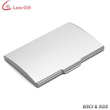 Stainless Steel Blank Silver Metal Credit Card Holder