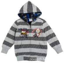 NEW stock European style kid clothes boys winter coat with printing