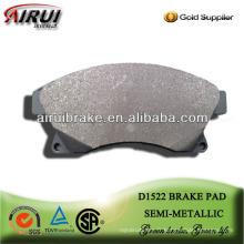 Plaquette de frein semi-métallique haute performance D1522